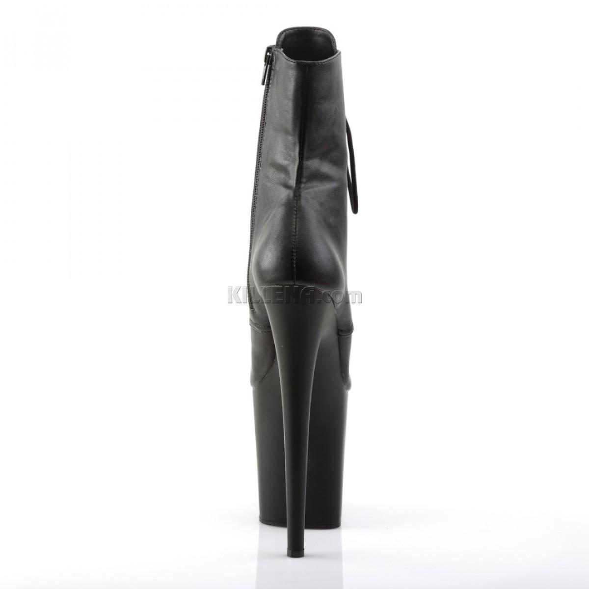Закрытые ботинки pleaser из эко кожи