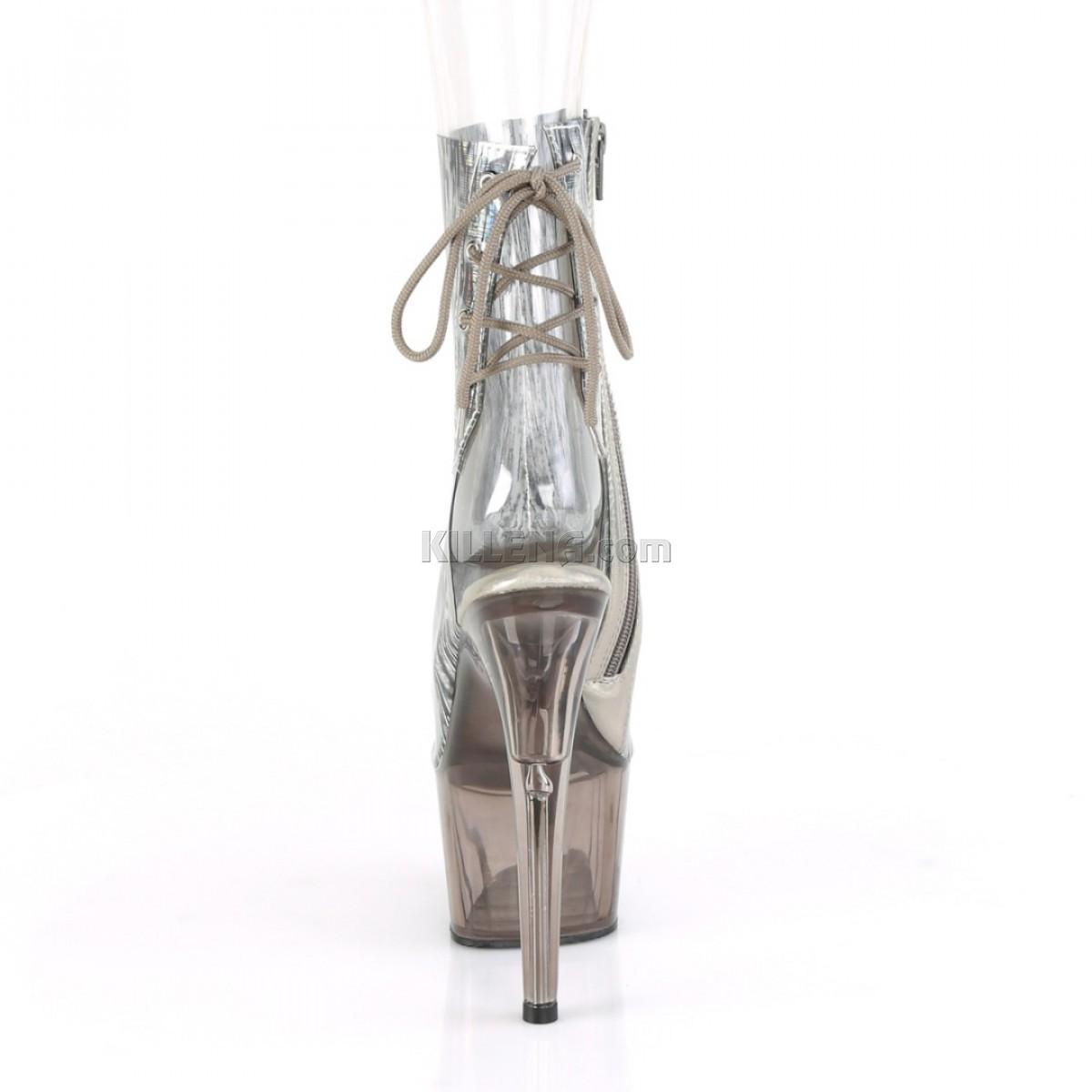 Открытые ботиночки с цветным силиконовым верхом