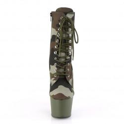 Камуфляжные закрытые ботинки для exotic