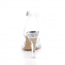 Босоножки с ремешком на щиколотке для бодифитнес с широким каблуком