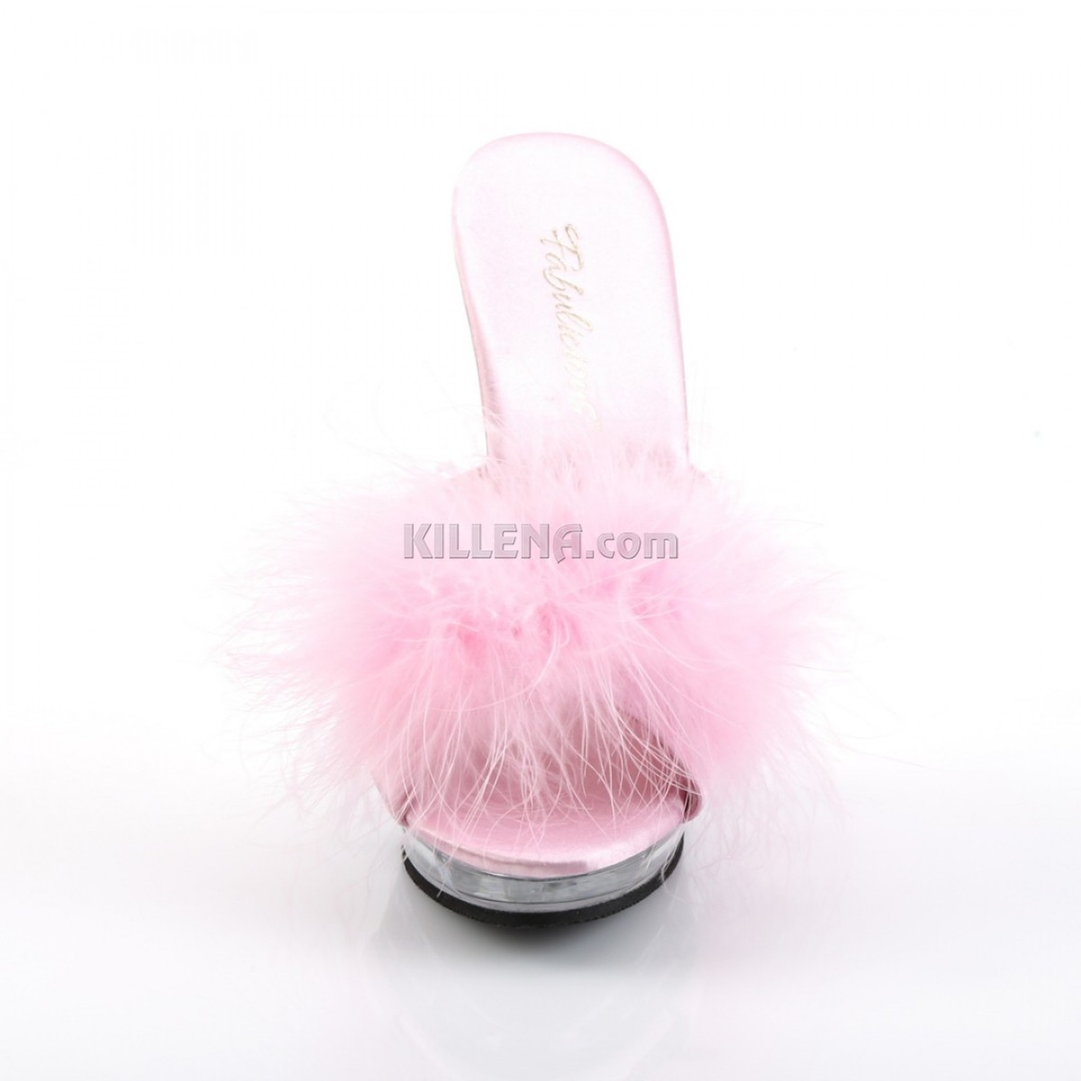Эротическая обувь на прозрачной платформе